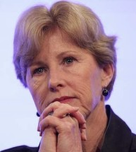 Christine Milne, leader of the Australian Greens Party